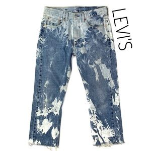 Levi's 505 Vintage Denim Retro One of a Kind Jeans